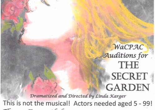 The Secret Garden Audition