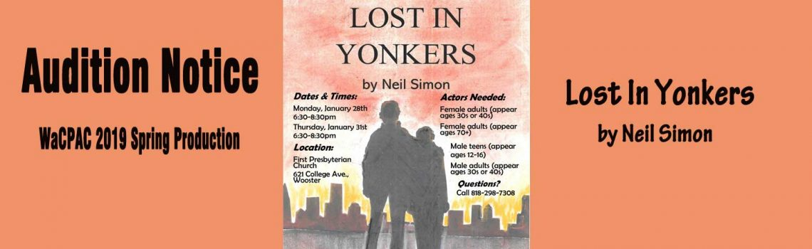 Lost In Yonkers Audition