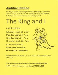 The King & I Cast List
